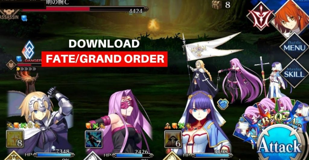 Download Fate Grand Order Apk File